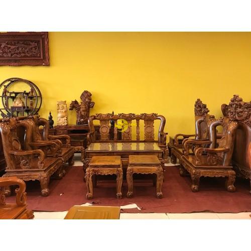 Bộ bàn ghế chạm đào gỗ cẩm lai tay 12 - 18035058 , 23276284 , 15_23276284 , 205000000 , Bo-ban-ghe-cham-dao-go-cam-lai-tay-12-15_23276284 , sendo.vn , Bộ bàn ghế chạm đào gỗ cẩm lai tay 12