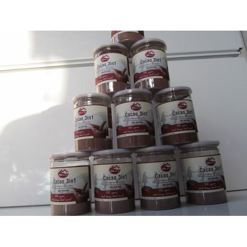 Combo 10 lon cacao 3in yeswinwin 220gr