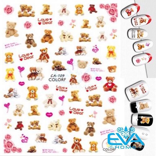 Miếng dán móng tay 3d nail sticker tráng trí hoạ tiết chú gấu cute bear ca109 - 19430319 , 23810541 , 15_23810541 , 25000 , Mieng-dan-mong-tay-3d-nail-sticker-trang-tri-hoa-tiet-chu-gau-cute-bear-ca109-15_23810541 , sendo.vn , Miếng dán móng tay 3d nail sticker tráng trí hoạ tiết chú gấu cute bear ca109