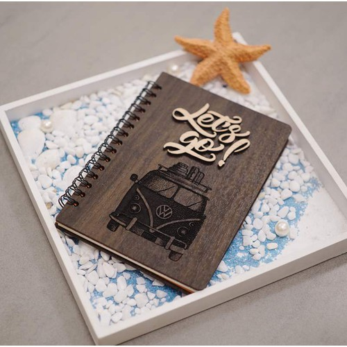 Sổ gỗ handmade sáng tạo độc đáo - 20783586 , 23800995 , 15_23800995 , 120000 , So-go-handmade-sang-tao-doc-dao-15_23800995 , sendo.vn , Sổ gỗ handmade sáng tạo độc đáo