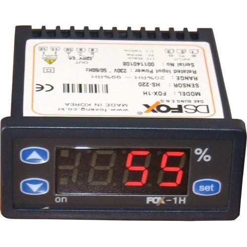 Đồng hồ điều khiển độ ẩm fox-1h , bộ điều khiển độ ẩm fox-1h