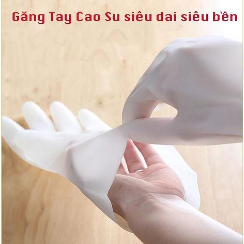 Combo 3 đôi găng tay cao su siêu bền siêu dai