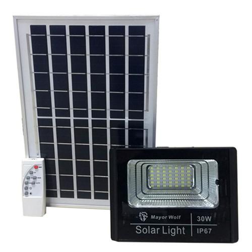 Đèn pha năng lượng mặt trời dc 30w