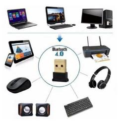 USB bluetooth CSR 4.0 Dongle – bổ sung bluetooth cho máy tính - hỗ trợ kết nối và truyền dữ liệu giữa máy tính với những thiết bị có kết nối bluetooth khác như điện thoại di động, laptop