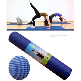 tham tập yoga cao cấp 173x61cm - 173x61cm thumbnail