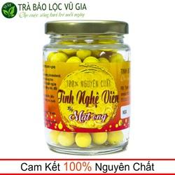 Tinh Nghệ Viên Mật Ong Nguyên Chất Vũ Gia [100gr-hũ] - Sản phẩm tốt cho sức khỏe, điều trị dạ dày tiêu hóa, hỗ trợ giảm cân