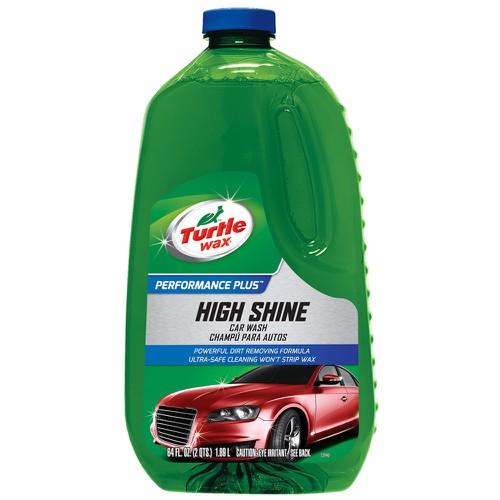 Dung dịch nước rửa xe turtle wax high shine car wash 1.89l