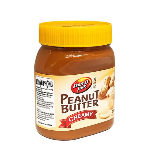Bơ đậu phộng creamy 400gr - loại mịn