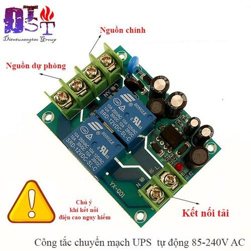 Công tắc chuyển mạch ups  tự động 85-240v ac