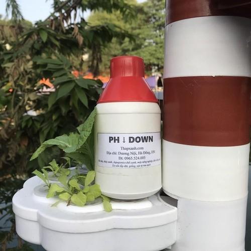 Dung dịch giảm độ ph phd-500 ml, ph down, điều tiết căn chỉnh ph của nước