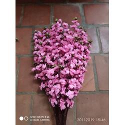 hoa đào giả - combo 10 cành hoa đào giả
