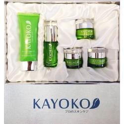 Bộ mỹ phẩm Kayoko 5in1 trị nám da, tàn nhang