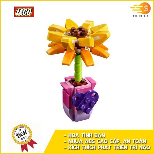 Bộ đồ chơi lắp ráp sáng tạo hoa tình bạn le go friend 30404