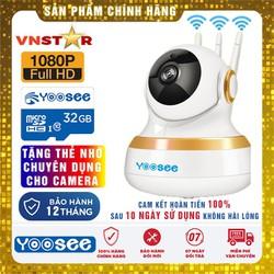 Camera Yoosee 2.0 1080P - Siêu Nét Góc Rộng - Mẫu Mới Nhất