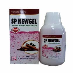 Nước súc miệng chống nhiễm khuẩn, khử mùi SP NEWGEL 250ML