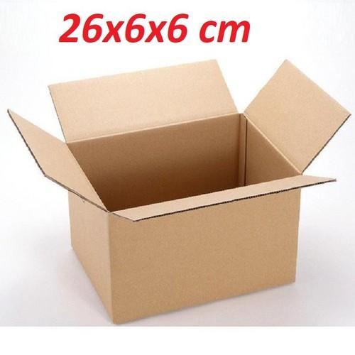 Bộ 20 thùng carton 26x6x6 cm