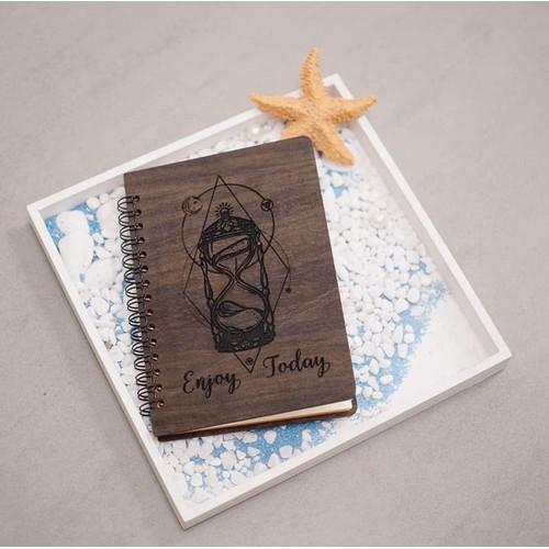 Sổ gỗ handmade sáng tạo độc đáo - 20782976 , 23799847 , 15_23799847 , 120000 , So-go-handmade-sang-tao-doc-dao-15_23799847 , sendo.vn , Sổ gỗ handmade sáng tạo độc đáo