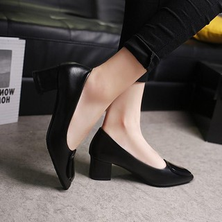 [ HỖ TRỢ 30K PHÍ VẬN CHUYỂN ] Giày da nữ cao gót - GOV.5 thumbnail