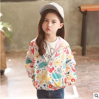 Áo khoác gió cho bé - áo khoác gió cho bé gái - áo khoác bé gái 7 tuổi - áo khoác gió cho trẻ em - Áo Khoác Gió 2 lớp Cho Bé gái 1- 6 tuổi - áo khoác bé gái thumbnail