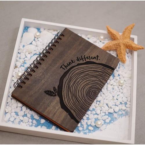 Sổ gỗ handmade sáng tạo độc đáo