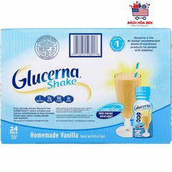 Thùng 24 chai Sữa Nước Glucerna Mỹ _date 03/2022