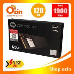 Ổ cứng SSD HP EX900 120GB M.2 NVMe 2280 đọc 1900MBs ghi 650MBs - EX900-120/SOZ