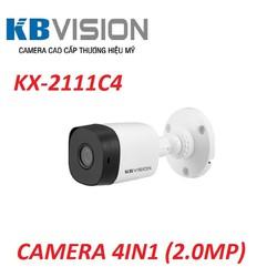 Camera 4 in 1 hồng ngoại 2.0 Megapixel KBVISION KX-A2111C4.  Hàng Chính Hãng