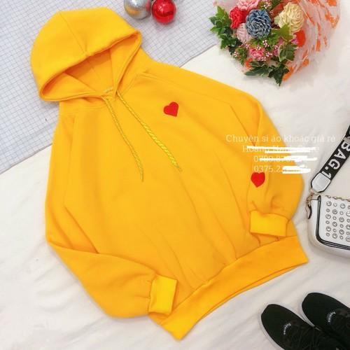 Áo khoác hoodie ngoại loại dày