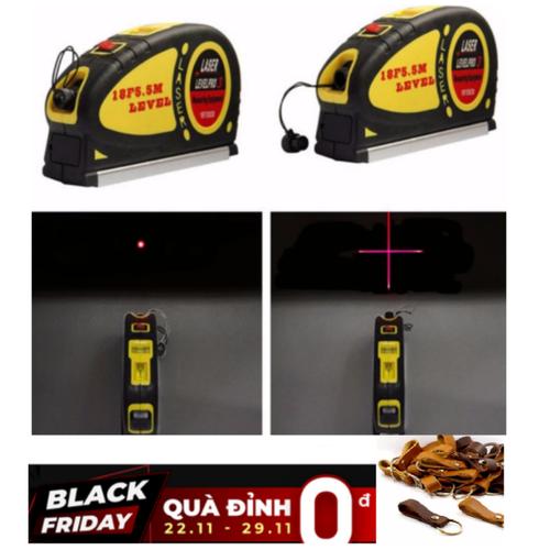 [Hỗ trợ 30k phí vận chuyển]thước laser đa năng cân mực + thước kéo 5.5m