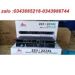 bộ lọc phân tần crossover dbx 223xl loại 1 bh 12 tháng