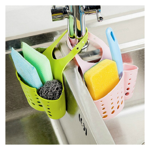 Giỏ nhựa treo bồn rửa bát