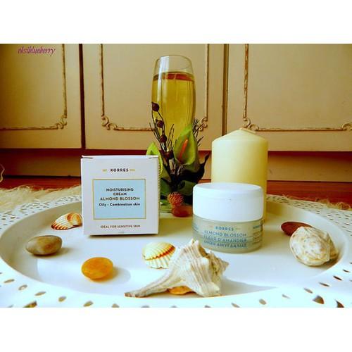 Kem dưỡng ẩm hằng ngày korres almond blosssom moisturising cream 40ml nhập khẩu chính hãng