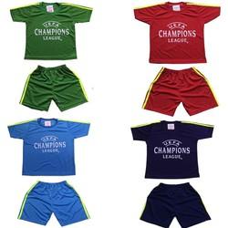 4 bộ đồ đá banh dành cho bé trai va bé gái, trang phục bóng đó dành cho trẻ em, áo đấu đội tuyển, áo đấu câu lạc bộ dành cho bé từ 10-40kg- 4 màu khác nhau
