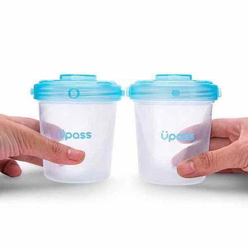Lẻ 1 cốc upass dung tích 200ml dùng trữ sữa thức ăn và hoa quả
