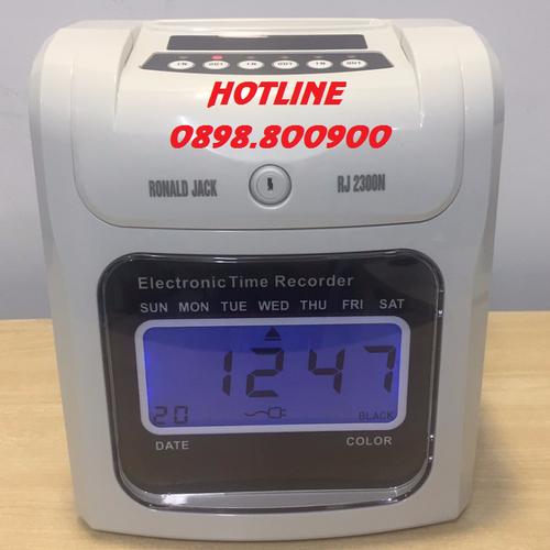 [ tl-0898.800900]  máy châm công thẻ giấy ronald jack rj-2300n