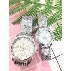 [ Hỗ trợ 30k PVC] Cặp Đôi Đồng hồ nam nữ thời trang Tosoka DH60