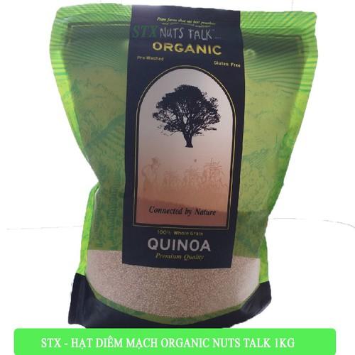 Hạt diêm mạch hữu cơ nuts talk 1kg