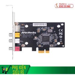 Card Chuyển Đổi PCI Ex sang AV, S-Video AVERMEDIA C725D Cao Cấp
