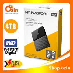 Ổ cứng di động Western Digital my passport 4T