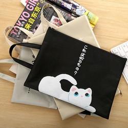 Túi đựng tài liệu hình mèo dễ thương