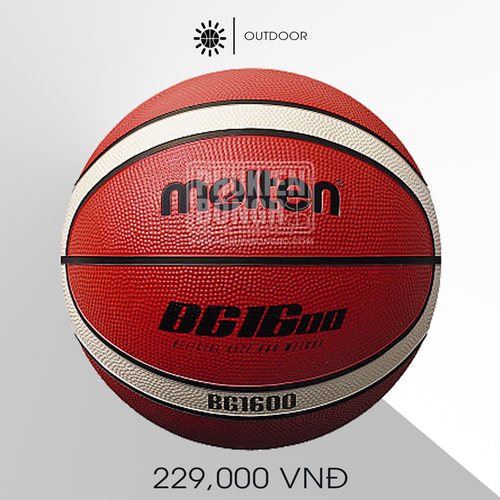 Banh bóng rổ molten b5g1600
