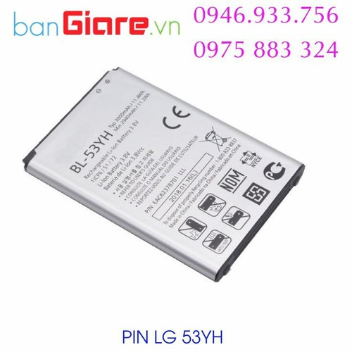 Pin lg bl-53yh, 3000mah cho lg f400 mới, loại 1 - 20797377 , 23821762 , 15_23821762 , 150000 , Pin-lg-bl-53yh-3000mah-cho-lg-f400-moi-loai-1-15_23821762 , sendo.vn , Pin lg bl-53yh, 3000mah cho lg f400 mới, loại 1