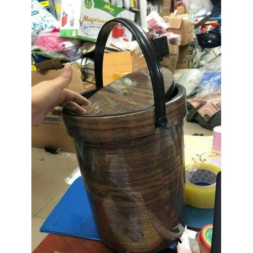 Thùng đựng rác nhựa giả vân gỗ - 20801694 , 23828807 , 15_23828807 , 150000 , Thung-dung-rac-nhua-gia-van-go-15_23828807 , sendo.vn , Thùng đựng rác nhựa giả vân gỗ