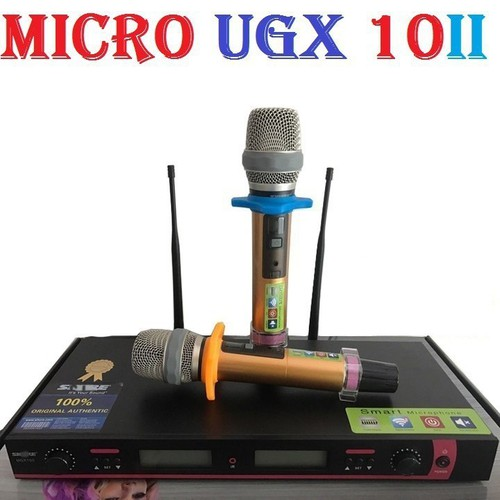 Micro không dây-micro không dây cao cấp ugx 10 ii-micro không dây cao cấp ugx 10 ii loại 1 chống hú cực tốt - 20800459 , 23827057 , 15_23827057 , 2350000 , Micro-khong-day-micro-khong-day-cao-cap-ugx-10-ii-micro-khong-day-cao-cap-ugx-10-ii-loai-1-chong-hu-cuc-tot-15_23827057 , sendo.vn , Micro không dây-micro không dây cao cấp ugx 10 ii-micro không dây cao c