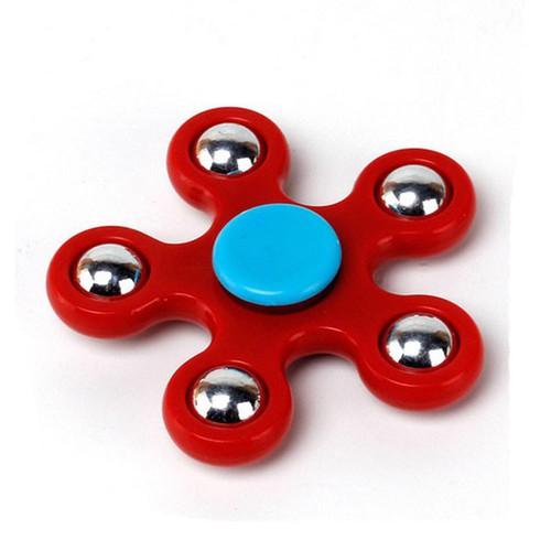 Con xoay tròn hand fidget spinner 5 cạnh thế hệ mới