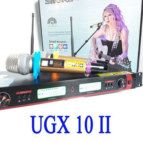 Micro không dây cao cấp ugx 10 ii-micro không dây cao cấp ugx 10 ii loại 1 chống hú cực tốt - 18930628 , 23826935 , 15_23826935 , 2350000 , Micro-khong-day-cao-cap-ugx-10-ii-micro-khong-day-cao-cap-ugx-10-ii-loai-1-chong-hu-cuc-tot-15_23826935 , sendo.vn , Micro không dây cao cấp ugx 10 ii-micro không dây cao cấp ugx 10 ii loại 1 chống hú cực