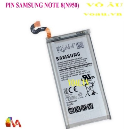Pin samsung note 8