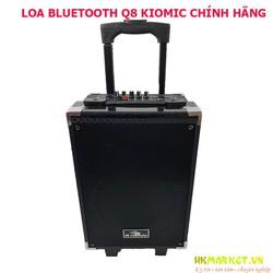 Loa kéo Q8 Kiomic mẫu mới nghe cực hay tặng kèm mic không dây