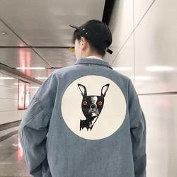Áo khoác jean Unisex – áo khoác jean nam nữ style Kun Yêu cổ điển và hiện đại CHI027 – Mua Ngay