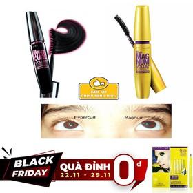 [QUÀ ĐỈNH 0Đ] Mascara Maybelline CHÍNH HÃNG 9.2ml - TẶNG bút kẻ mắt nước Maybe - vipall